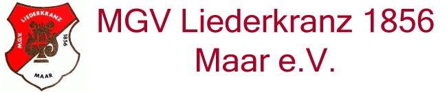 MGV Liederkranz 1856 Maar e.V.